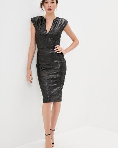 Черное вечернее платье Rich & Naked