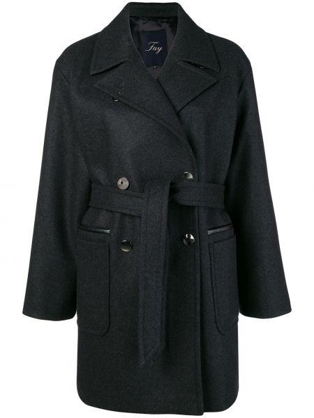 Пальто шерстяное пальто Fay