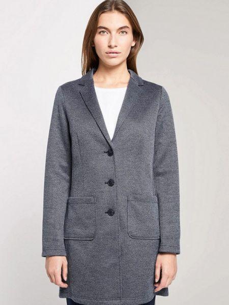 Пальто демисезонное серое Tom Tailor