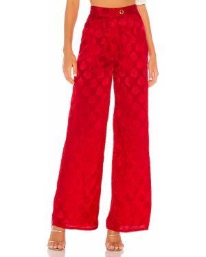 Spodnie z kieszeniami z wiskozy Majorelle