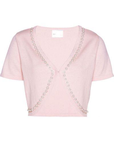 Розовое болеро со стразами Bonprix