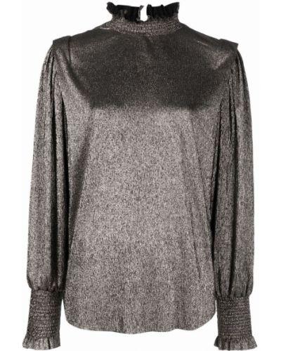 Złota bluzka Isabel Marant Etoile