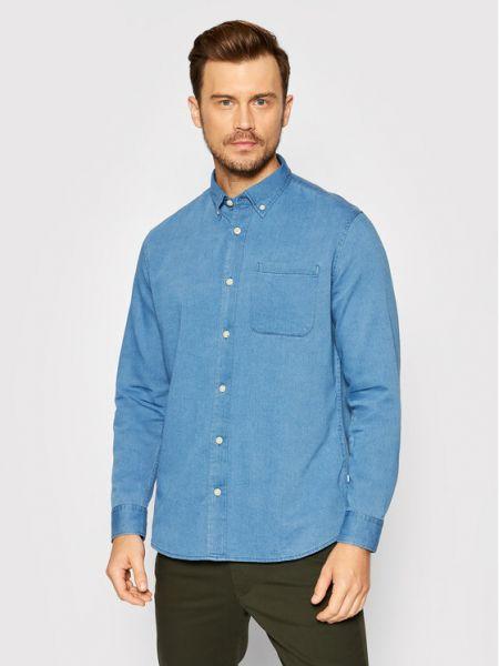 Koszula jeansowa - niebieska Selected Homme