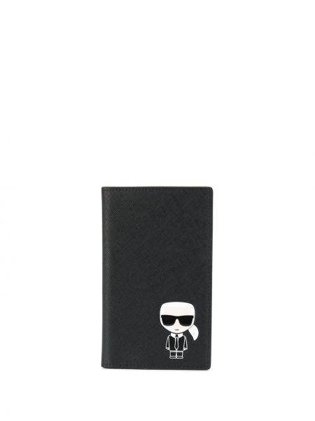 Кошелек черный Karl Lagerfeld