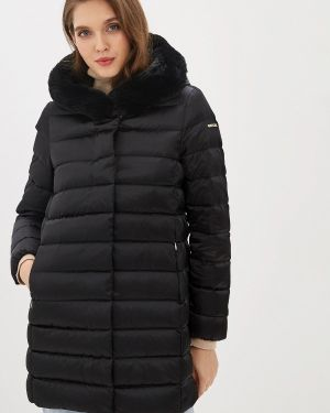 Зимняя куртка осенняя черная Geox
