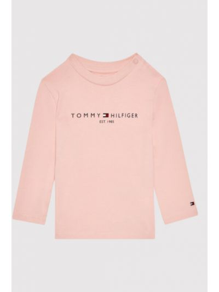 Bluzka - różowa Tommy Hilfiger
