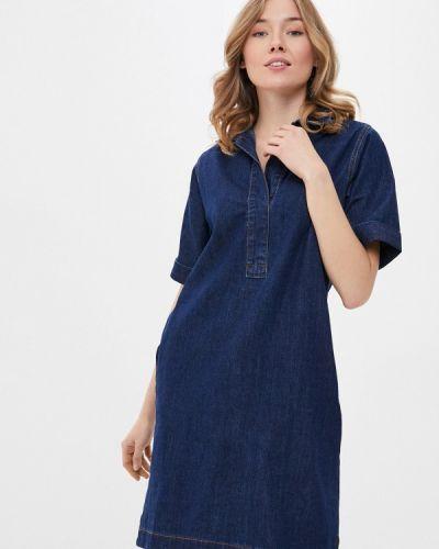 Джинсовое платье - синее Savage