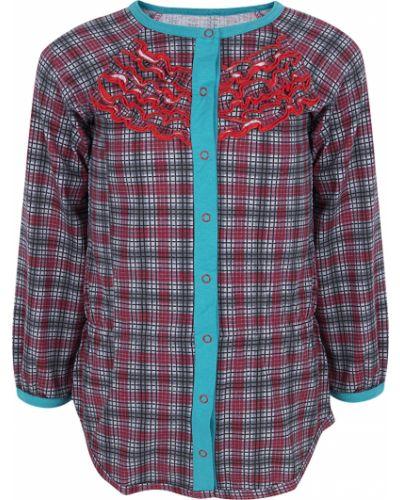 Блуза красная трифена