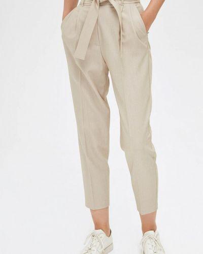 Повседневные бежевые брюки Lime