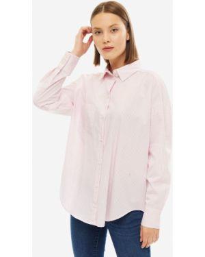 Рубашка в полоску оверсайз Armani Exchange