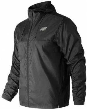 Куртка черная с манжетами New Balance