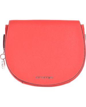 Оранжевая кожаная сумка Cromia