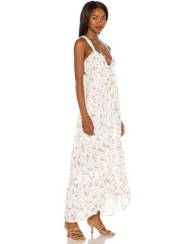 Biała sukienka długa vintage Tularosa