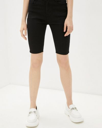 Черные джинсовые шорты G&g