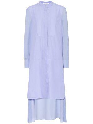 Платье миди в полоску на пуговицах Chloé