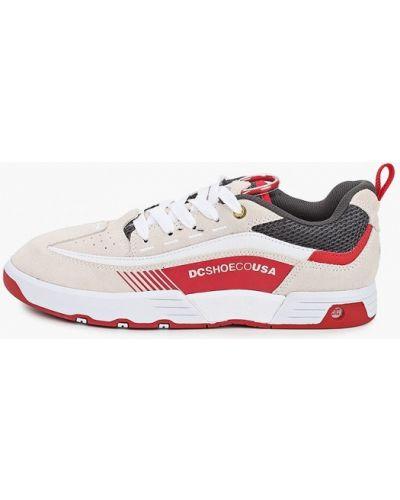 Текстильные бежевые пинетки Dc Shoes
