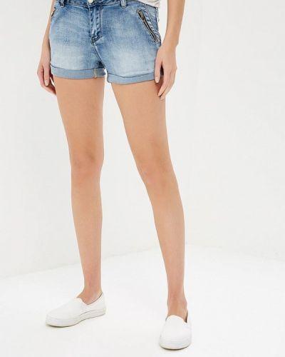 Голубые джинсовые шорты B.style