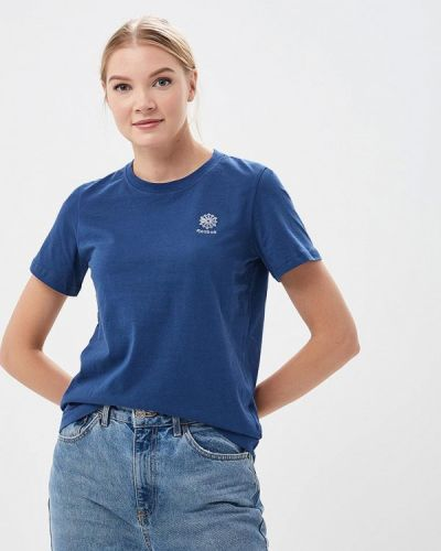 Синяя футболка индийская Reebok Classics