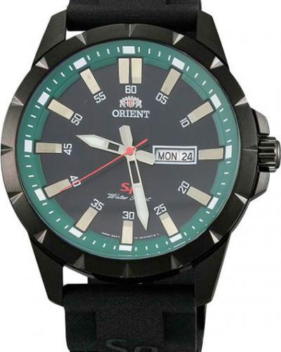Часы водонепроницаемые зеленый спортивные Orient