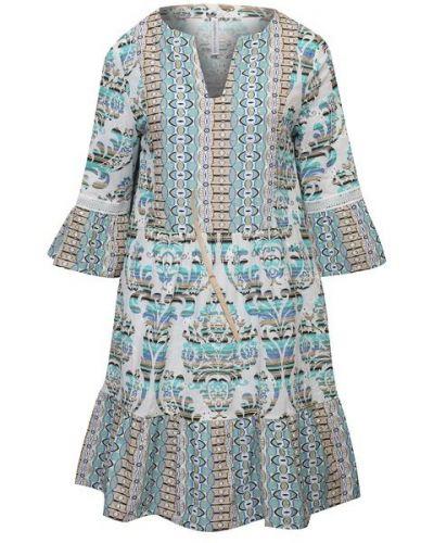 Льняное платье - зеленое La Fabbrica Del Lino