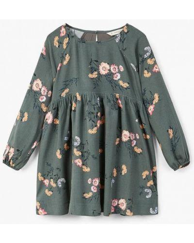 Платье повседневное осеннее Mango Kids