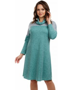 Повседневное платье серое платье-сарафан Liza Fashion