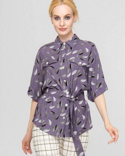 Фиолетовая весенняя блузка Lo