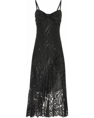 Платье миди с завышенной талией с кружевными рукавами Jonathan Simkhai