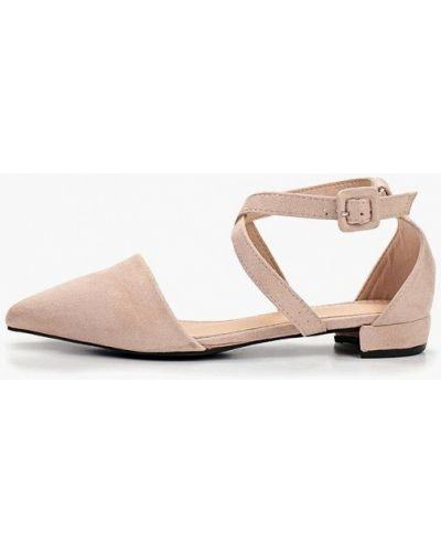 Замшевые туфли бежевый Coco Perla