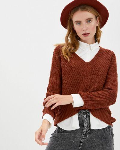 Красный пуловер Jacqueline De Yong