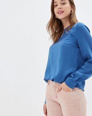 Блузка с длинным рукавом синяя Prio