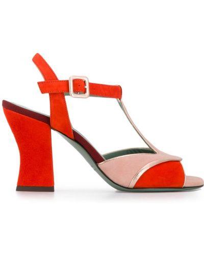 Открытые босоножки на высоком каблуке на каблуке Paola D'arcano