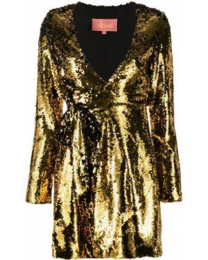 Платье с запахом с V-образным вырезом Amuse