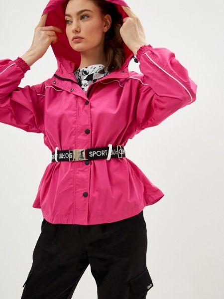 Спортивная куртка весенняя розовая Liu Jo Sport