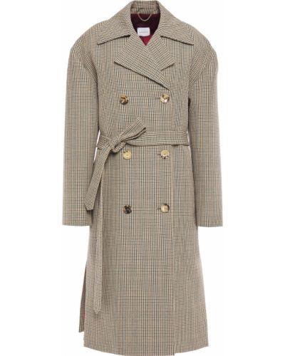 Бежевое пальто с карманами Magda Butrym