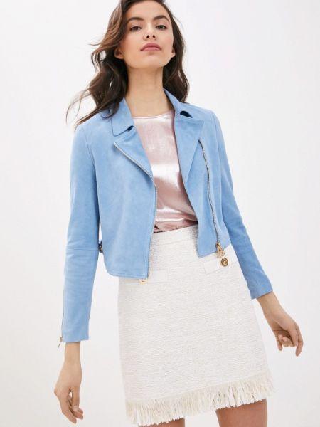 Кожаная куртка весенняя Liu Jo