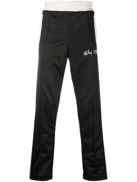 Czarny spodnie sportowe z paskami Palm Angels