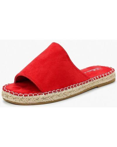 Красные замшевые сабо Bellamica