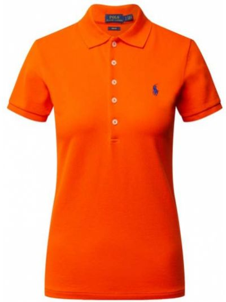 T-shirt bawełniana - pomarańczowa Polo Ralph Lauren