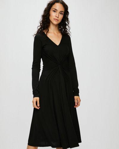 Платье миди однотонное расклешенное Silvian Heach