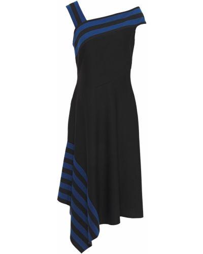 Черное платье с драпировкой Bailey 44