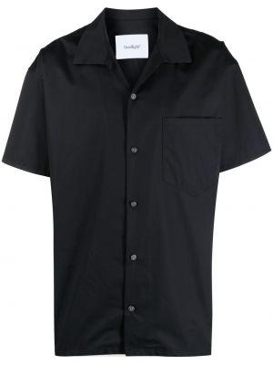 Czarna koszula krótki rękaw bawełniana Goodfight