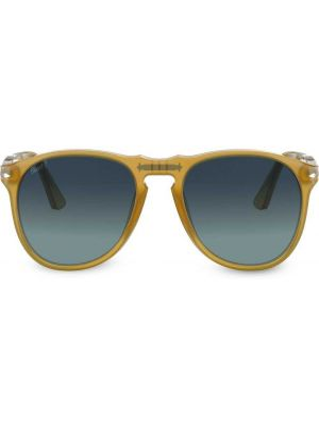Okulary srebrne - żółte Persol