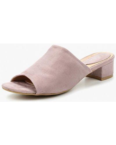 Сабо фиолетовый на каблуке Bellamica