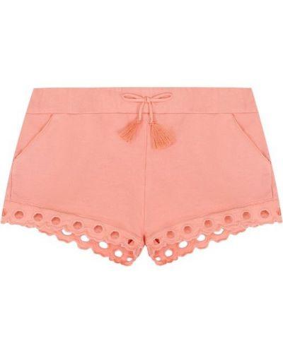 Розовые короткие шорты Chloé