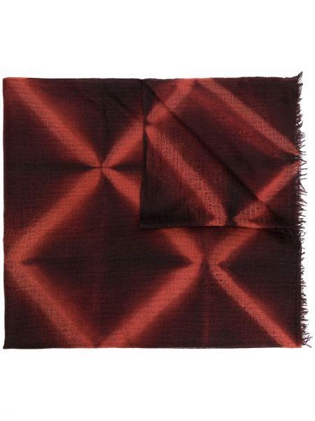 Облегченная кашемировый оранжевый шарф Suzusan