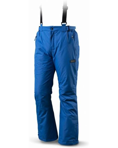Niebieskie spodnie materiałowe Trimm