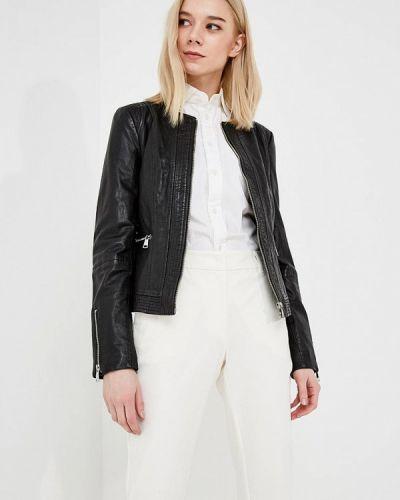 Куртка кожаная Trussardi Jeans