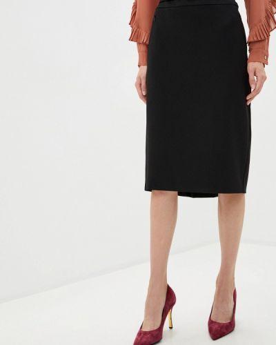 Черная юбка узкого кроя Iblues