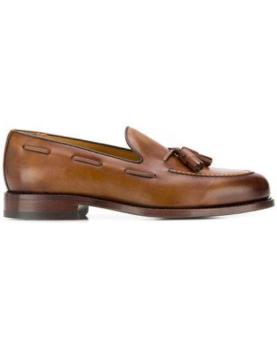 Лоферы с кисточками классические Berwick Shoes